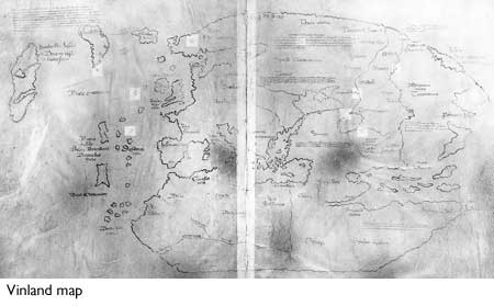 Vinland Map High Resolution nor the map  a purported