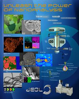 JEOL Materials Applications - Field Emission SEM poster