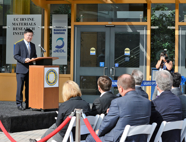 Grand Opening for UC Irvine Materials Research Institute and JEOL Center for NanoScale Solutions