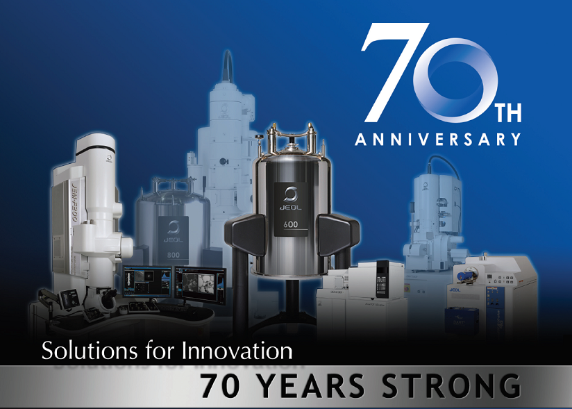 70th The Anniversary With JEOL Instruments