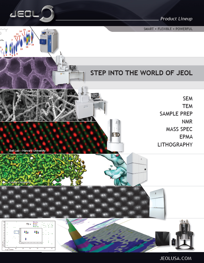 Step into the World of JEOL -brochure